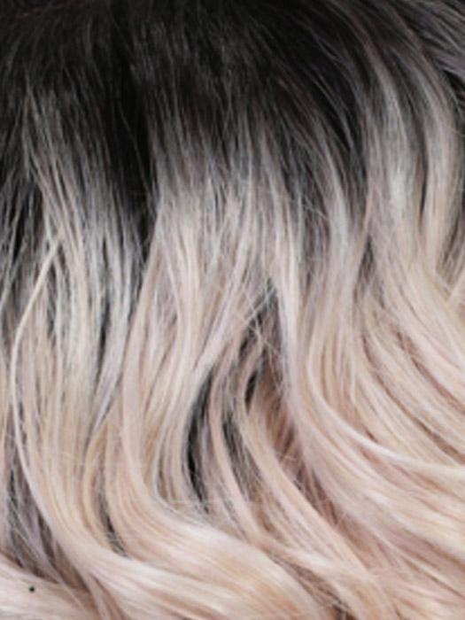 STT1B/PPK | Pale Pink with Off Black Roots