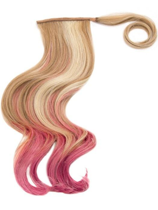 "23"" COLOR SPLASH PONY by Hairdo in R14/88H/PINK 