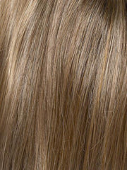TOASTED-SESAME | Medium Brown roots with overall Warm Cinnamon base and Golden Blonde hightlights