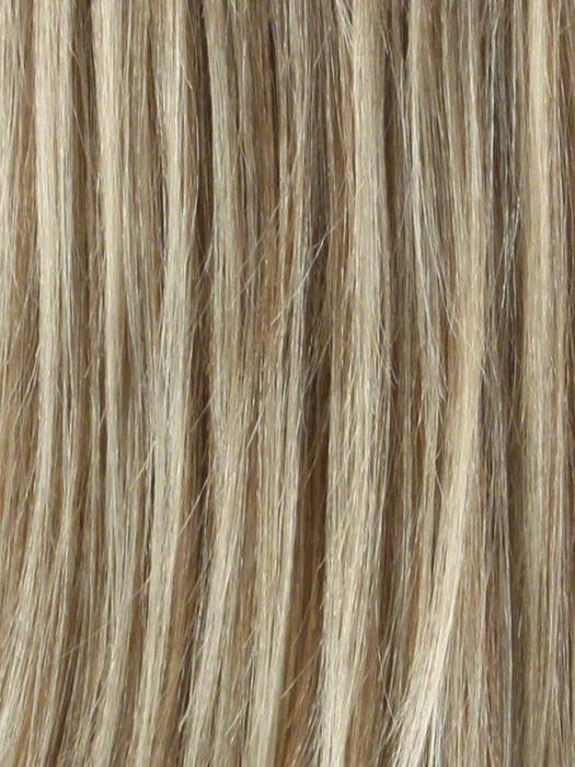 TP613/27 | Honey Blonde, Highlight Streak with Platinum Blonde Tip