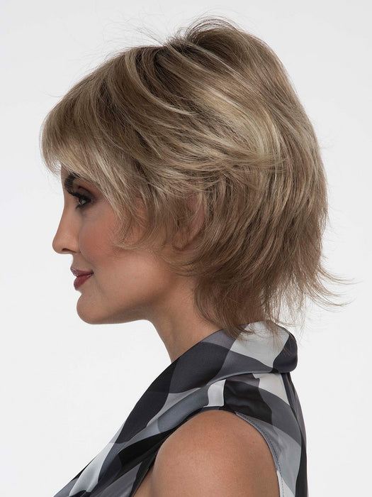 Short and shaggy is perfect for the girl on the go