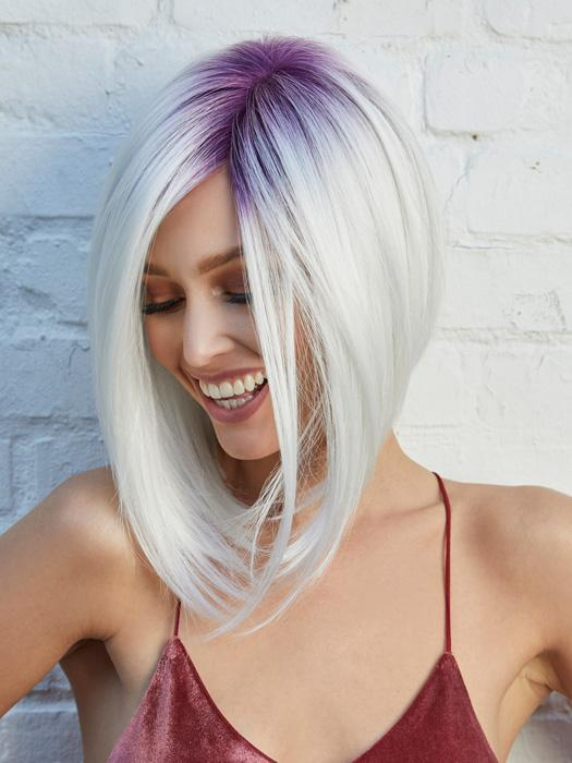 TAYLOR by NORIKO in WHIPPED BERRY | Bright purple melting into pure white