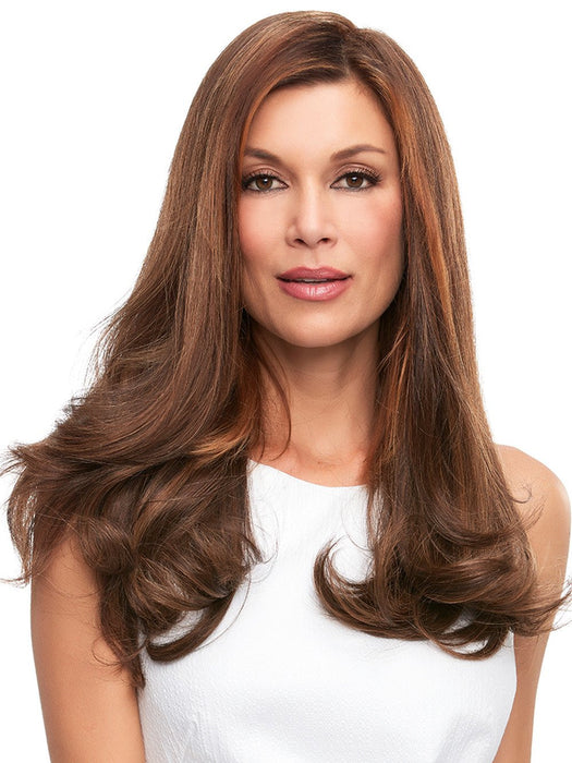 Is Hair Topper is designed with the comfort of a 100% hand tied stretch base