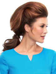 Can be styled to blend seamlessly with long natural hair.