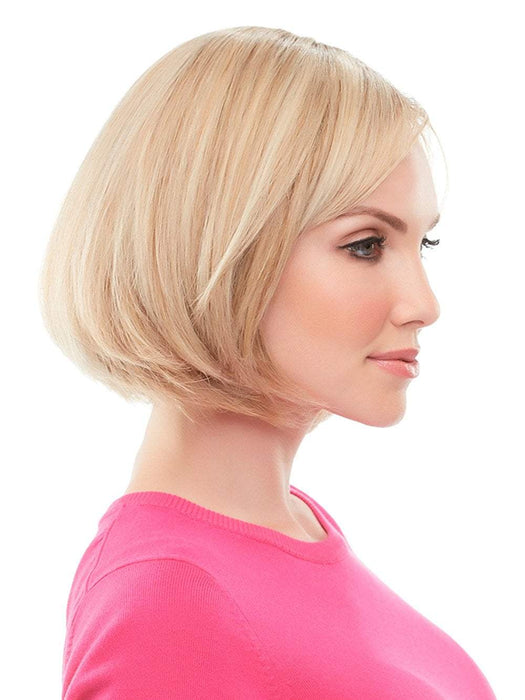 The top quality Remy human hair can be styled to blend seamlessly with short natural hair