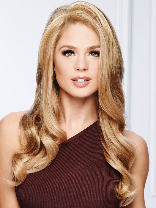 TOP CHOICE Hair Topper by GABOR in GL14-16 HONEY TOAST | Dark Blonde with Golden Highlights