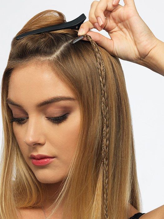 Two Braid Extension Clip Ins Pop By Hairdo Wigs Com