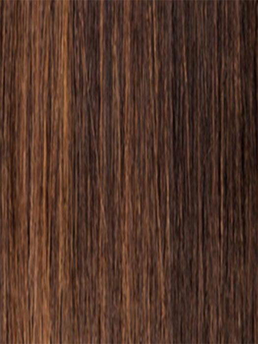 FS4/27 | 80% Medium Dark Brown with 20% Honey Blonde Frost