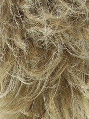 VANILLA-CREAM Platinum Blonde Blended with Neutral Blonde and Golden Blonde