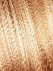 VANILLA LUSH | Bright Copper and Platinum Blonde evenly blended tipped light