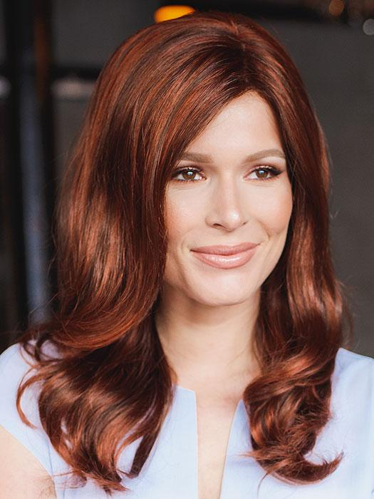 CAMILA by WIG PRO in 32-130 | Dark Auburn with Bright Copper