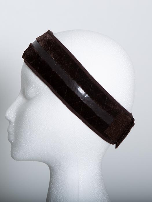 You can wear the strip against your head for an anti-slide solution to wig slippage