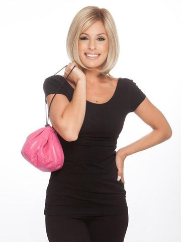 Color Pink | ResQ Bag™ | Mini is designed to store your wigs, hairpieces, and extensions