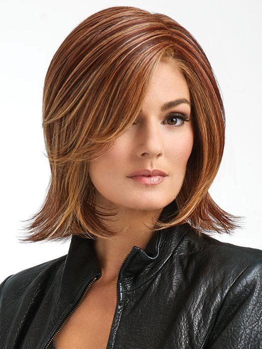 BIG TIME by RAQUEL WELCH in RL31/29 FIERY COPPER | Medium Light Auburn Evenly Blended with Ginger Blonde