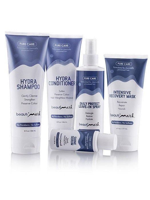 BeautiMark 5 pc Pure Care System for Human Hair