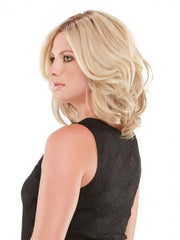 This versatile shoulder length bob maximizes styling options with 100% human hair and an undetectable lace front