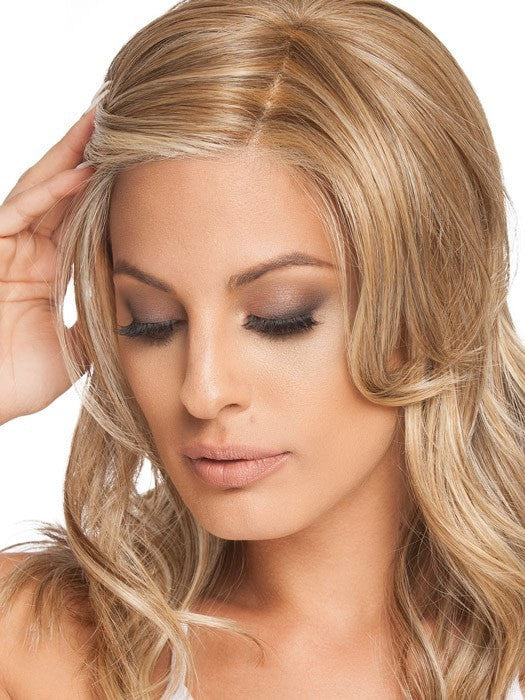 Virtually invisible, sheer and ready-to-wear lace front creates a natural looking hairline and allows for off-the-face styling.