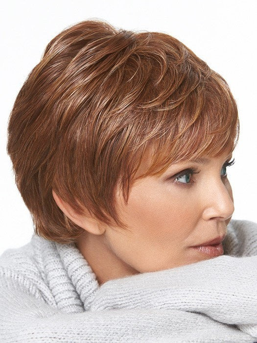 A smart pixie cut that features all-over, softly textured layers