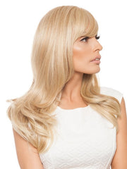 You can flat iron, curl, or add more waves to this heat-friendly style | Color: HT14/88H