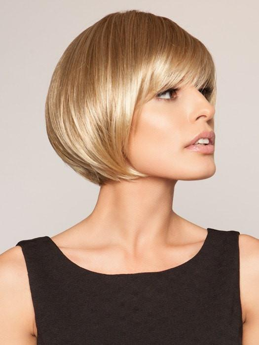 A classic Bob hair style with a textured fringe