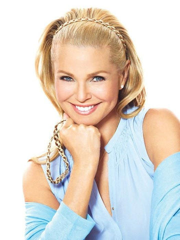 Double Braided Headband by Christie Brinkley | Color: HT25