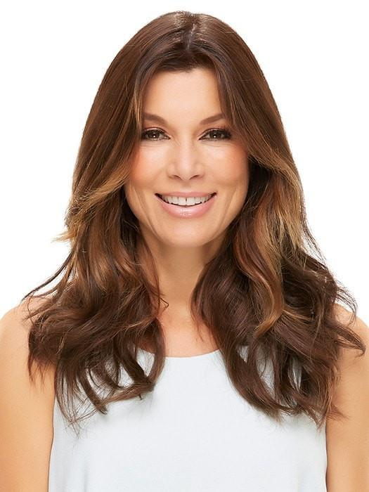 Soft layers can be cut to fit your hair length