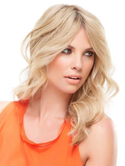 Change the part and style it with your hair | Color: 12FS8