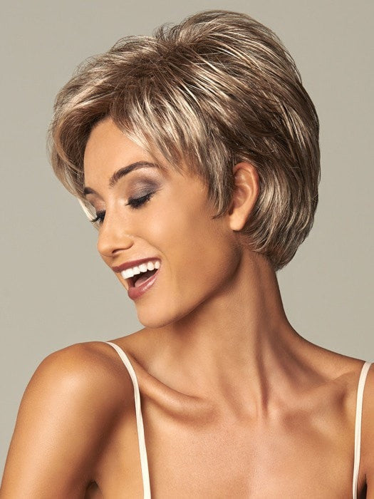 Fun boy cut with feminine accents are always in style | Color: GL18-23