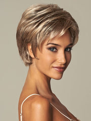 Lace in the front allows you to wear the bang forward or back | Color: GL18-23