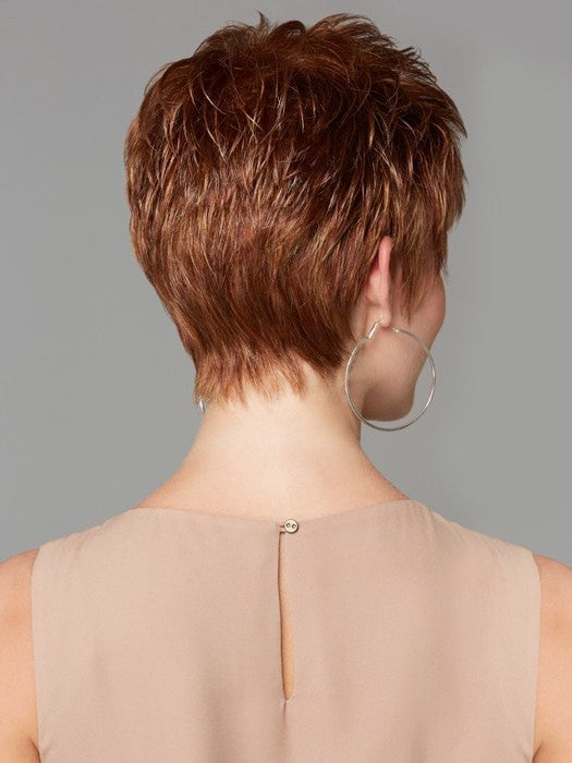 Ultra-thin adjusters at the nape for a personalized fit | Color GL29/31 - Rusty Auburn