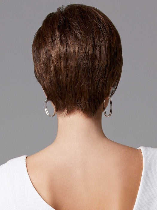Gabor Distinction Wig - Back View