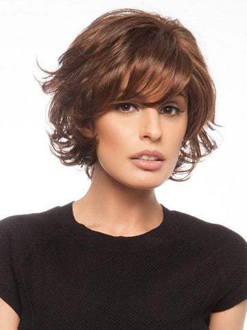 Full layered bang can be trimmed or worn out of the box | Color: GL6/30