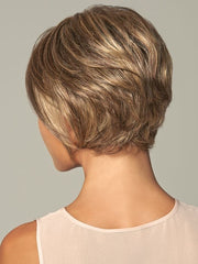 The short neckline is clean and provides coverage for your own hair and hairline | Color: GL11-25