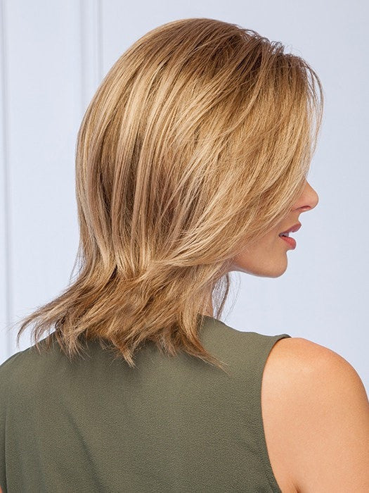 Featuring a lace front and monofilament part for off the face styling | Color: GL12/13