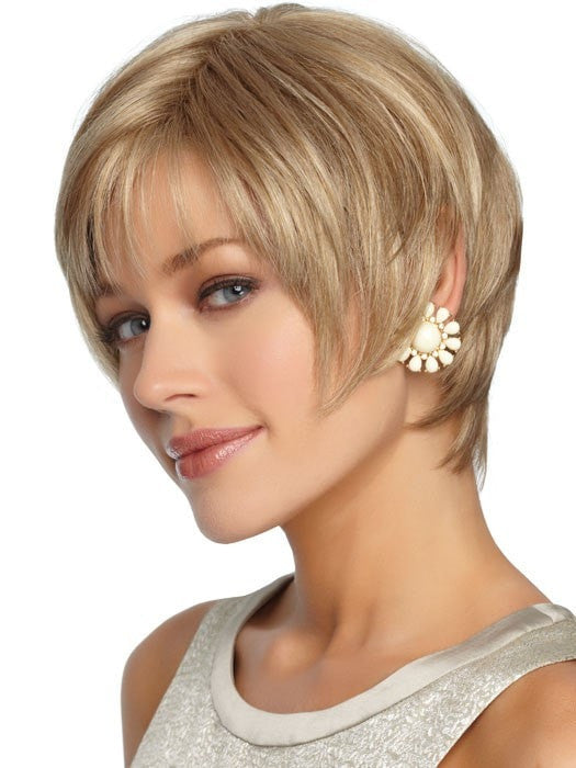 Perfection Petite Wig by Gabor Wigs : Profie View | Color GL16/27