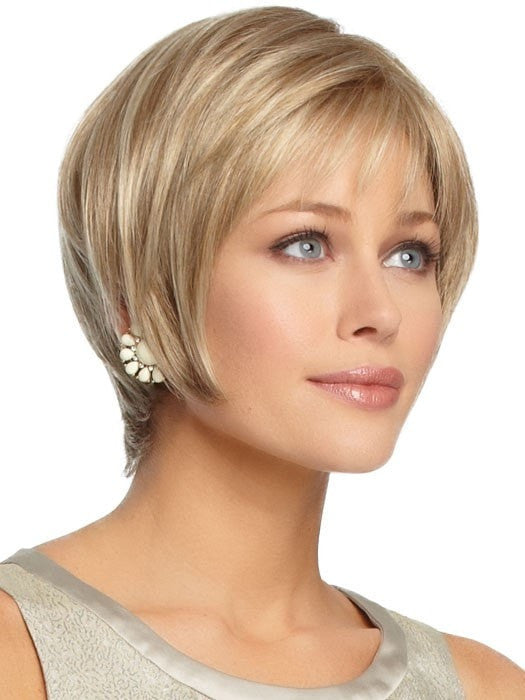 Perfection Petite Wig by Gabor Wigs : Side View | Color GL16/27