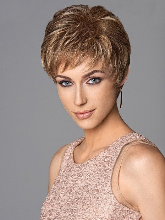 Expertly layered, short cut