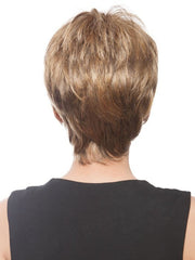 Height at the crown and a tapered neckline add a feminine touch. Color GL14-16