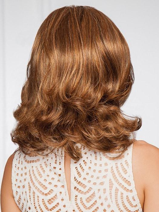 Lace front—Ready-to-wear welded lace front creates a natural looking hairline | Color: GL8/29