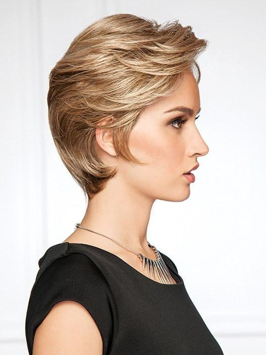 Lavish length at the front to the tapered layers that blend to an extended nape | Color: GL15/26