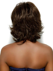 Estetica Angela Wig : Back View | Color R6/10