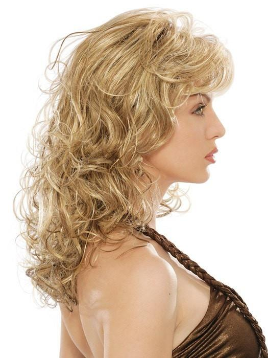 Estetica Designs Becky Wig : Profile View | Color R12/26CH