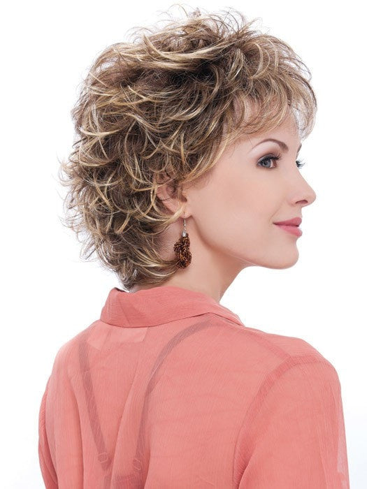 Estetica Designs Wigs Carly Wig : Profile View | Color R8/26H