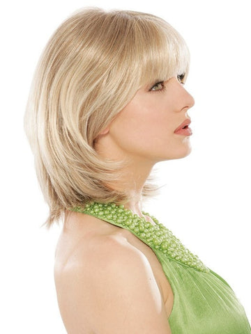 Estetica Designs Chanel Wig : Remy Human Hair | Profile View | Color R10/24BT