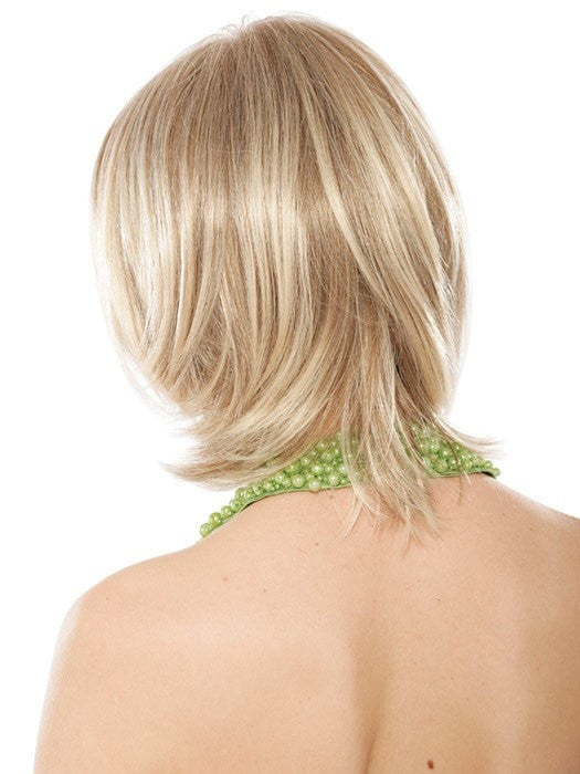 Estetica Designs Chanel Wig : Remy Human Hair | Back View | Color R10/24BT