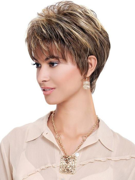 Estetica Design Wig Cheri Wig : Side View | Color R8/26H