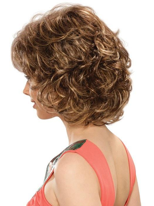 Estetica Designs Colleen Wig : Profile View | Color CARAMELKISS