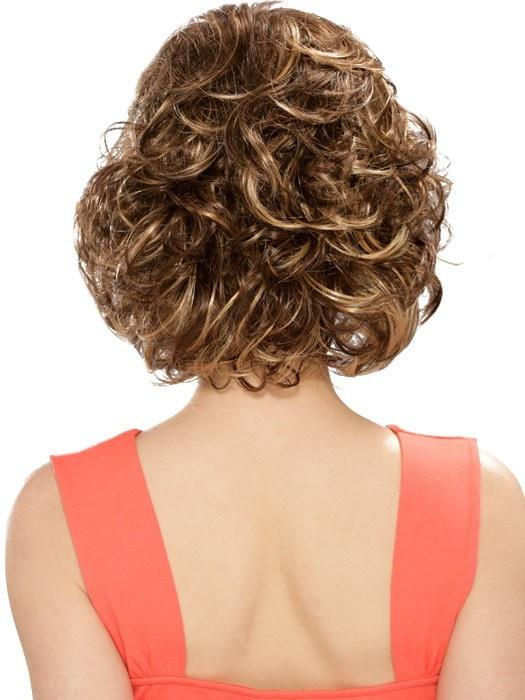 Estetica Designs Colleen Wig : Back View | Color CARAMELKISS