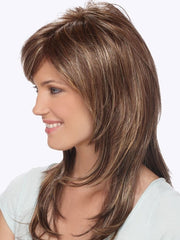 Estetica Designs Wigs Dixie : Side View | Color CARAMELKISS