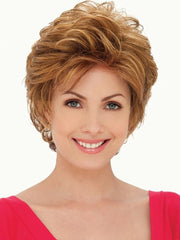 Hazel Wig by Estetica Designs Wigs : Front View | Color R30/28/26